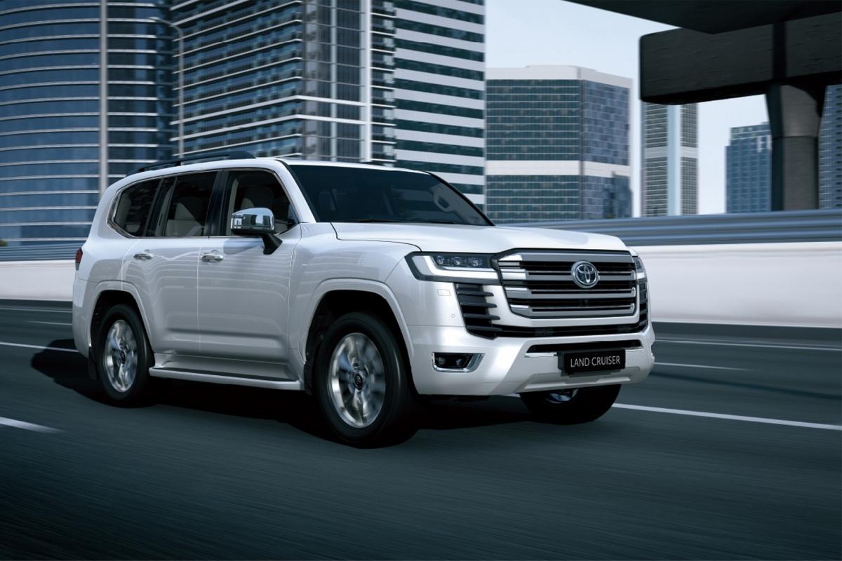 Land Cruiser thế hệ mới vừa ra mắt thị trường Việt Nam