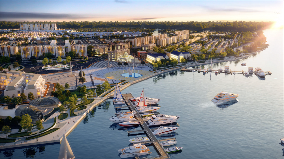 Tổ hợp Quảng trường - Bến du thuyền Aqua Marina đẳng cấp tại Aqua City sẽ là nơi khơi nguồn phong cách sống thời thượng hàng đầu khu vực phía Đông TPHCM.