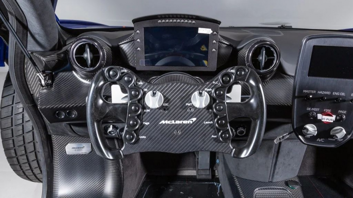 Tỉ số này cao hơn tất cả những mẫu xe mà McLaren Automotive từng sản xuất, kể cả F1 GTR và P1 GTR.