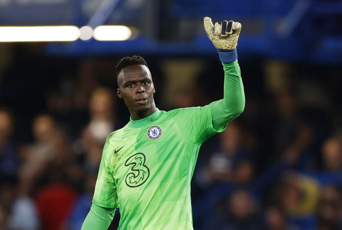Thủ môn Mendy nhiều khả năng vắng mặt trong trận đấu Chelsea gặp Man City ngày 25/9. (Ảnh: Reuters).