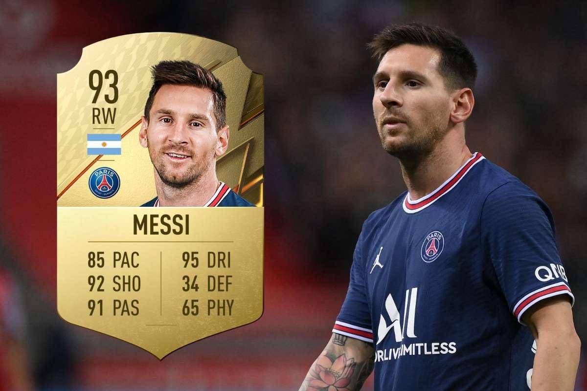 Sau khi Lionel Messi chuyển tới PSG, top 10 cầu thủ xuất sắc nhất La Liga trong FIFA 22 gồm: