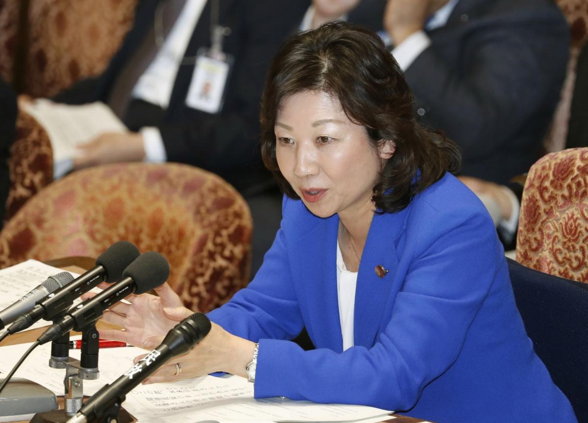 Bà Noda Seiko - quyền tổng thư ký điều hành của Đảng LDP. Ảnh: Japan Times.