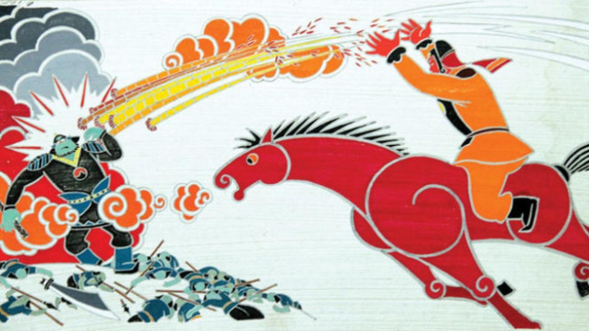 """Tác phẩm hoạt hình """"Chuyện ông Gióng""""giành giải """"Bồ câu Vàng"""" tại Liên hoan phim quốc tế Leipzig."""