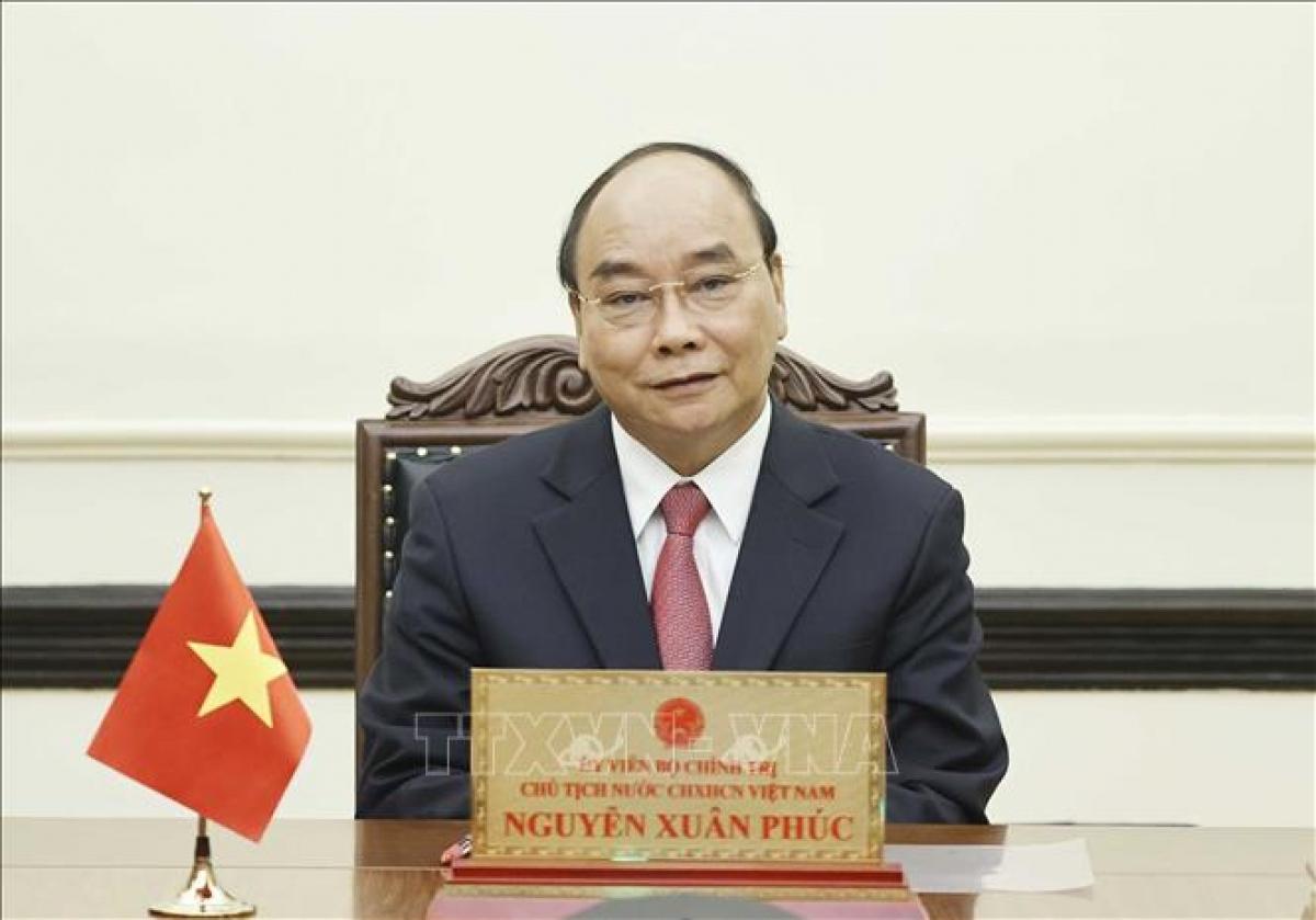 State President Nguyen Xuan Phuc of Vietnam