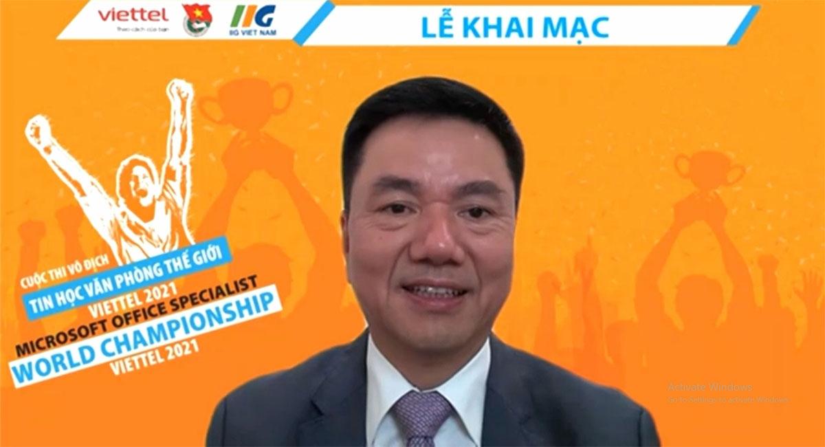 Ông Đoàn Hồng Nam, đồng Trưởng Ban tổ chức Cuộc thi cấp quốc gia