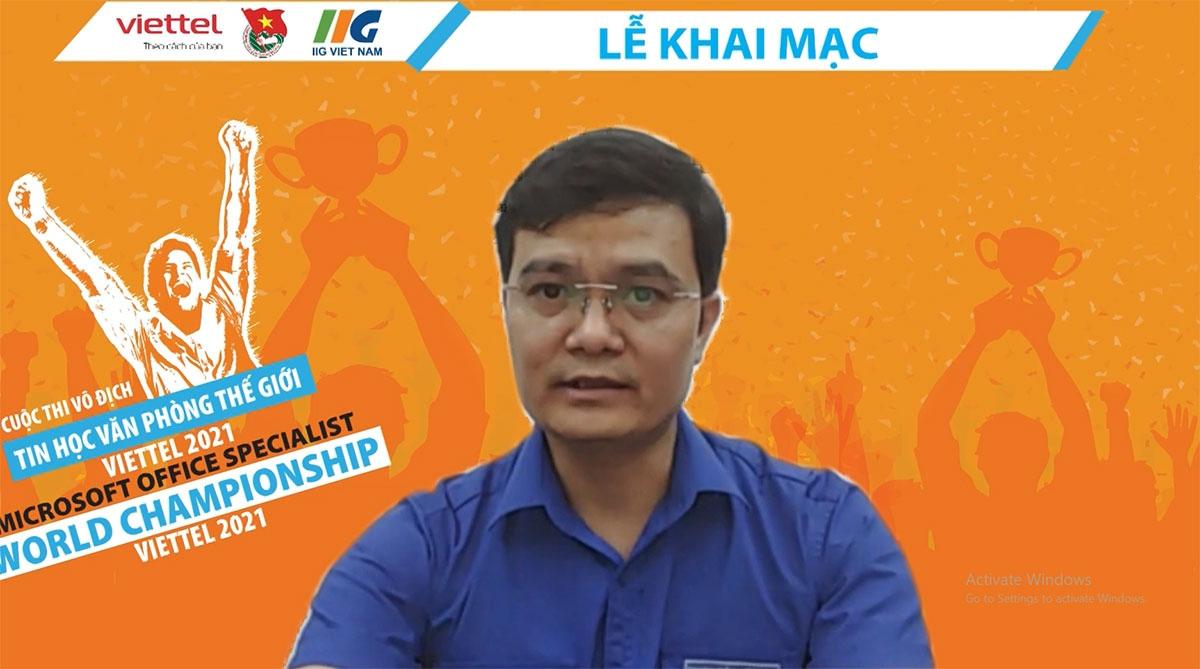 Ông Bùi Quang Huy, Ủy viên dự khuyết Ban Chấp hành Trung ương Đảng, Bí thư Thường trực Trung ương Đoàn TNCS Hồ Chí Minh