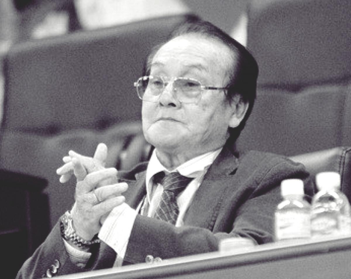 Ông Hoàng Vĩnh Giang hưởng thọ 76 tuổi.