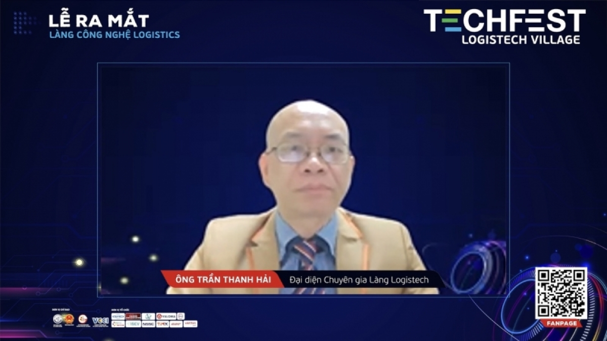 Ông Trần Thanh Hải phát biểu.