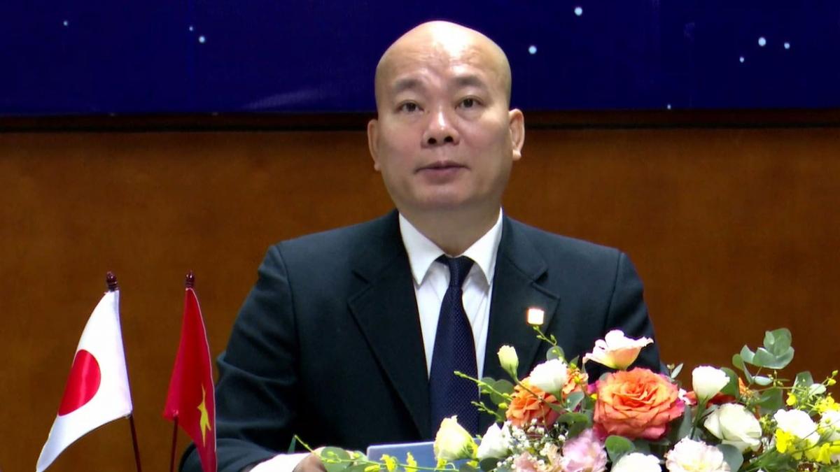 Ông Vũ Bá Phú, Cục trưởng Cục Xúc tiến thương mại (Bộ Công Thương).