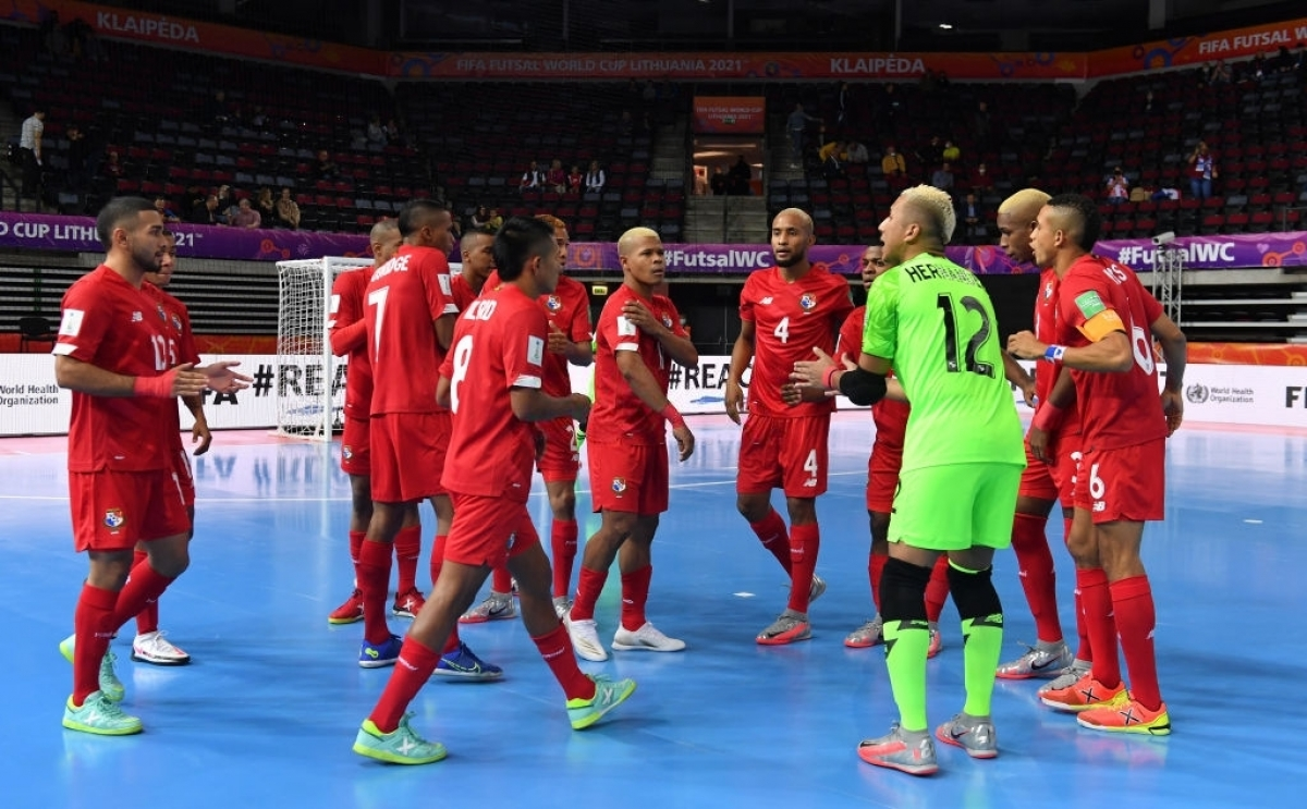 ĐT Futsal Panama đã thất bại 1-5 trước CH Séc ở lượt trận đầu tiên. (Ảnh: Getty).