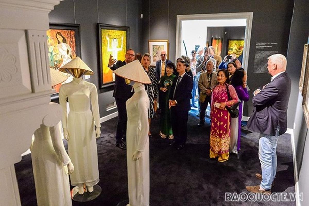 The exhibition remains open to visitors until April 2022 (Source: baoquocte.vn)