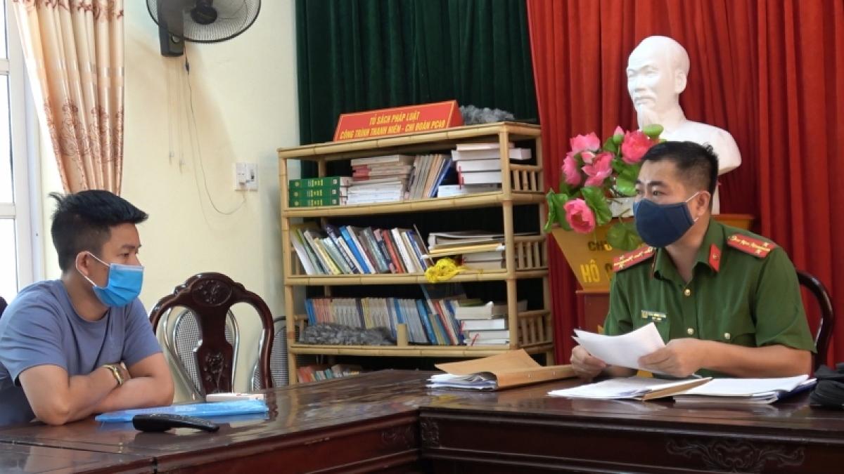 Chủ phòng khám H.D tại cơ quan Công an
