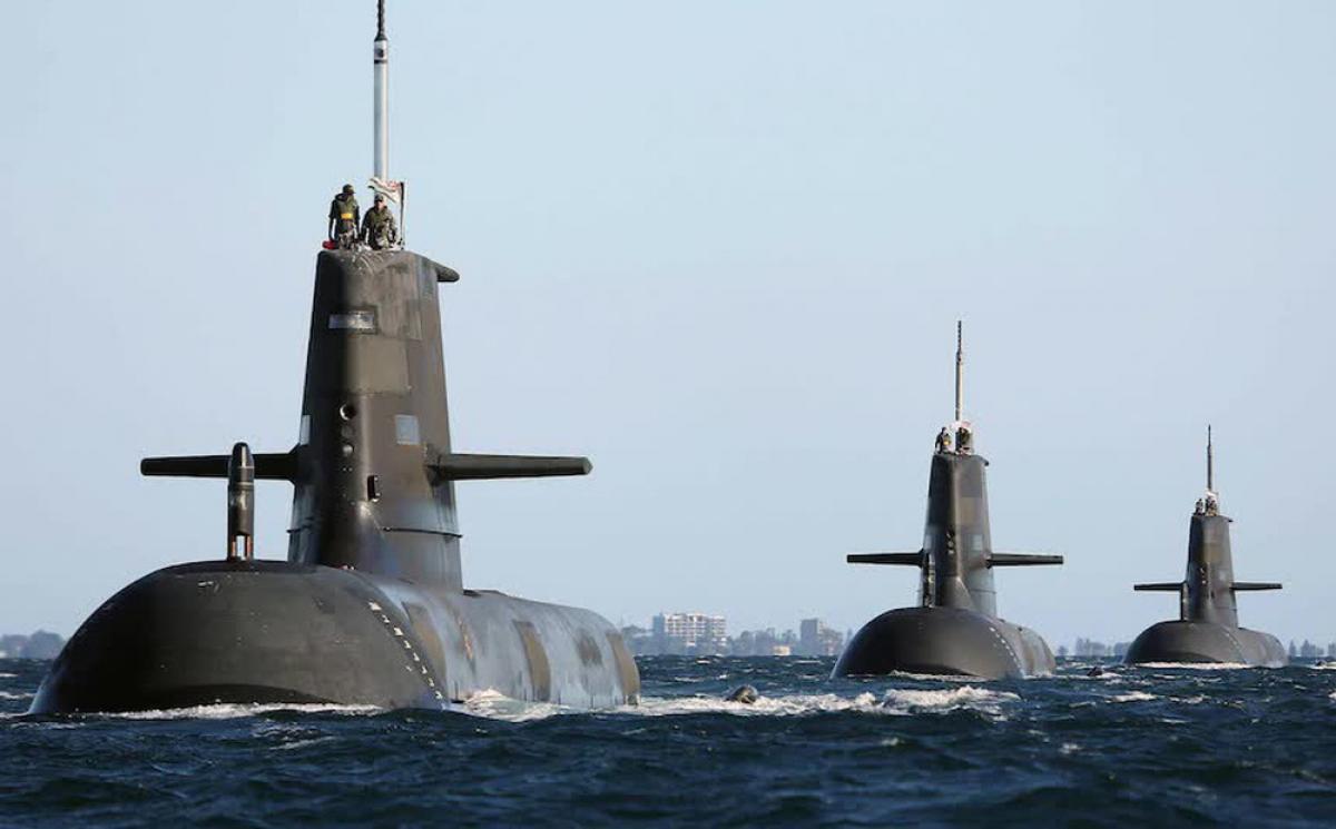 Các tàu ngầm lớp Collins của Australia sẽ được thay thế bằng một hạm đội chạy bằng năng lượng hạt nhân. Ảnh: ADF