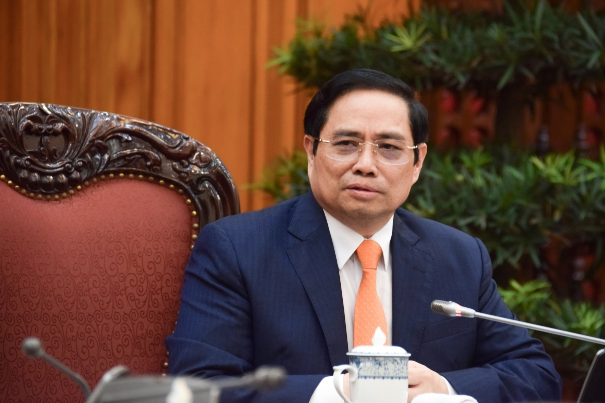 PM Pham Minh Chinh suggests that the Netherlands provide additional assistance to Vietnam in the areas of climate change adaptation, water management and sustainable agriculture