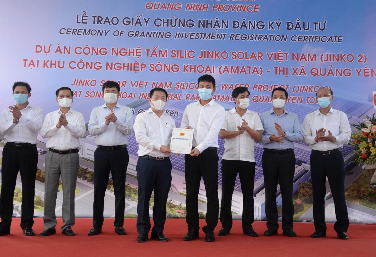 Quảng Ninh thu hút FDI tăng gấp đôi so với cùng kỳ năm 2020