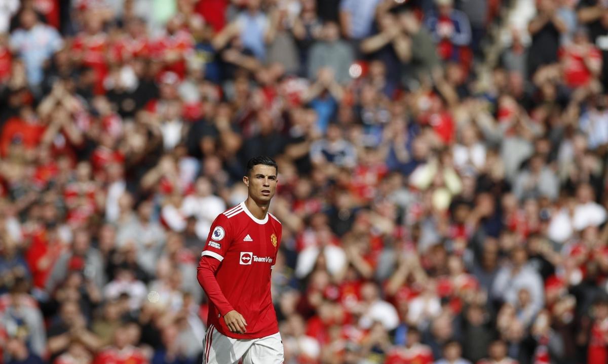 Cristiano Ronaldo đánh dấu sự trở lại sau 12 năm xa cách MU.