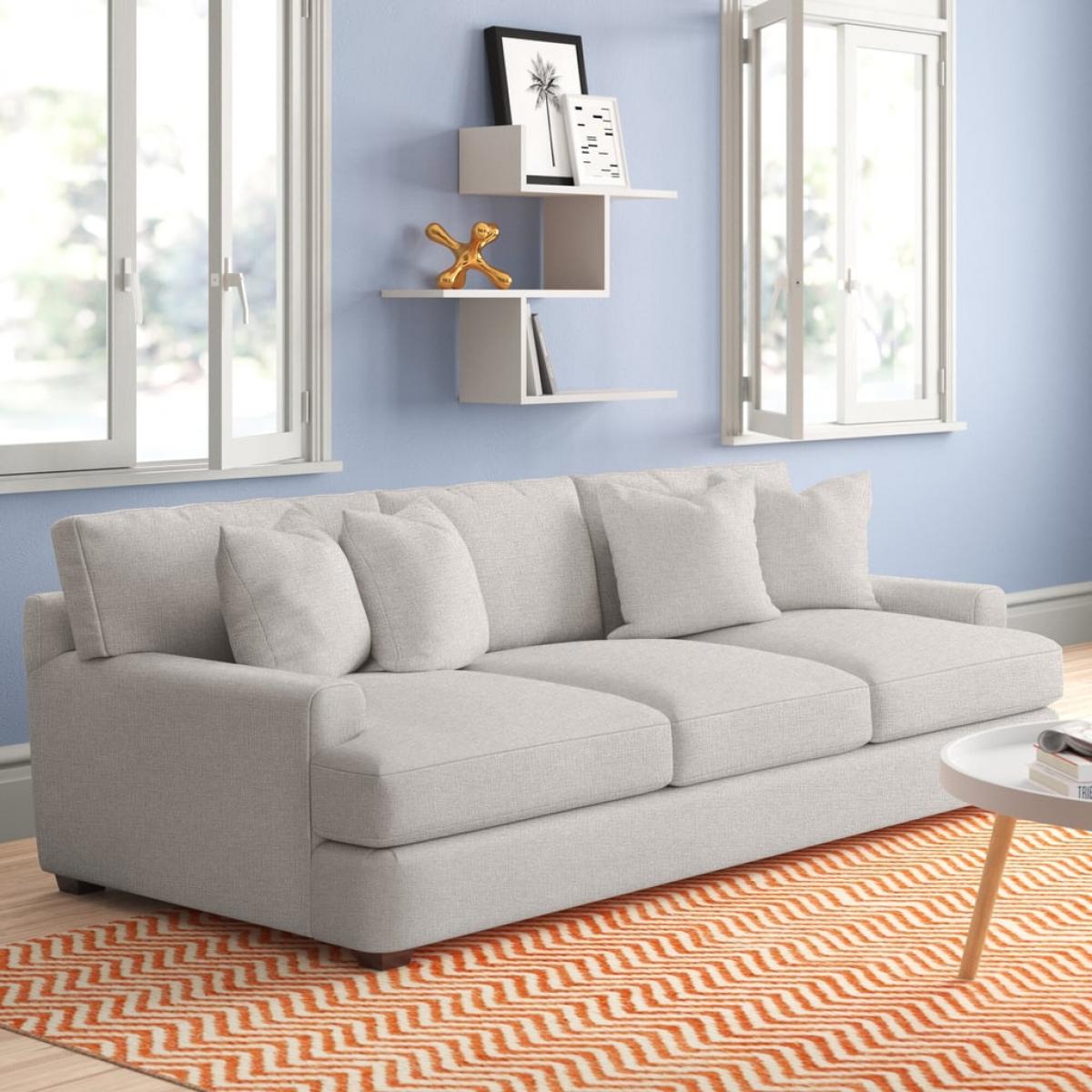Nếu không gian rộng hơn một chút, hãy chọn loại có thể trực tiếp kéo ra làm giường ngủ.
