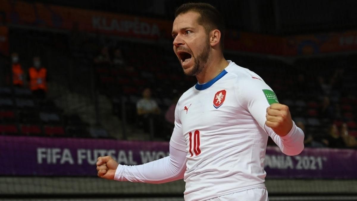Michal Seidler - cầu thủ đáng chú ý của ĐT Futsal CH Séc. (Ảnh: Getty).