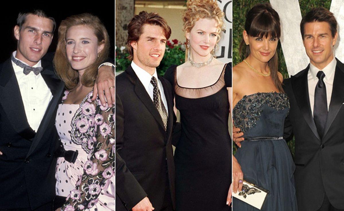 Tom Cruise ly hôn những người vợ khi họ tròn 33 tuổi.