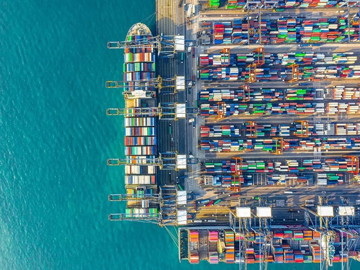 Nhiều hãng tàu rời đang chuyển sang chở container vì lợi nhuận cao. (Ảnh: Bloomberg)