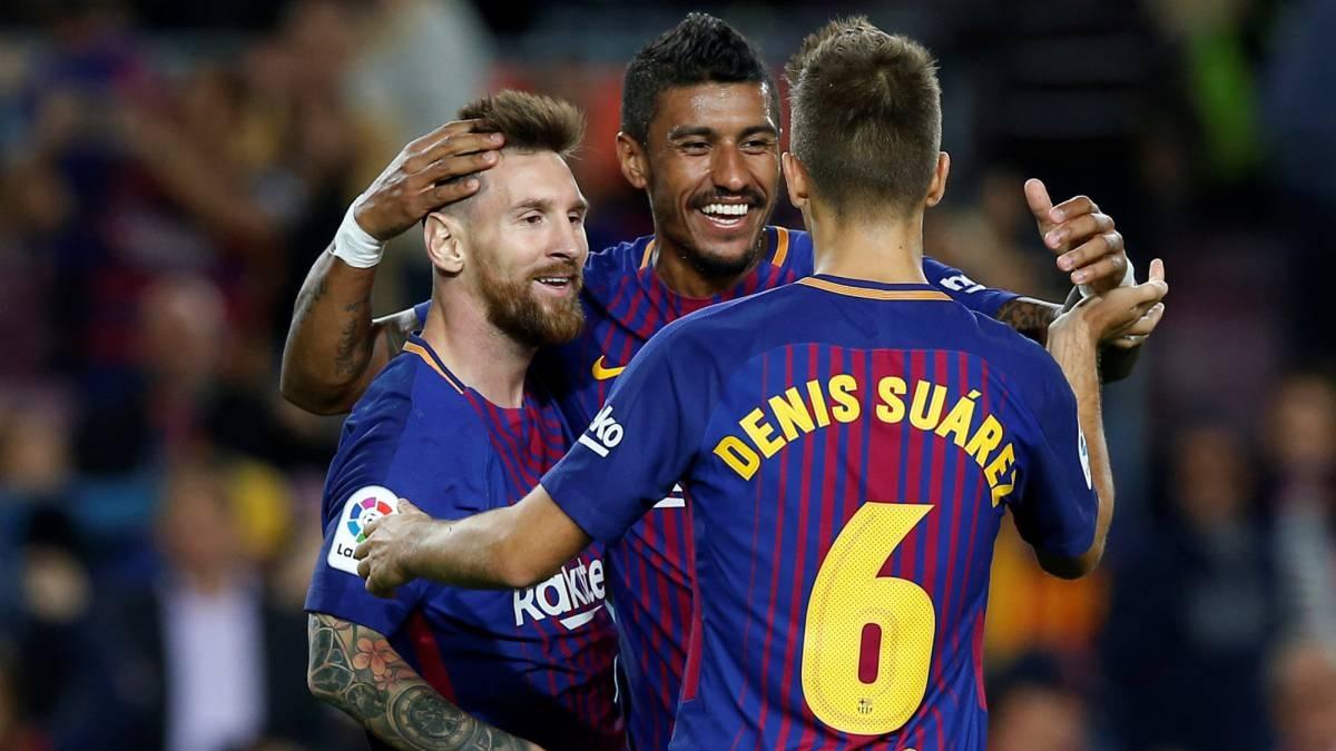 Ngày này 4 năm trước, Messi ghi 4 bàn thắng trong trận đấu Barca đánh bại Eibar 6-1 để ghi tên mình vào một thống kê lịch sử của La Liga. (Ảnh: Getty).