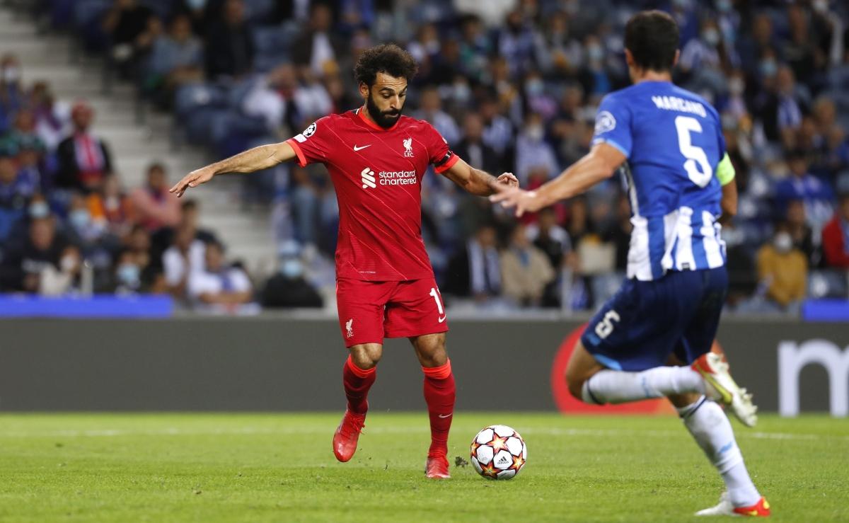 Salah ghi bàn trong trận thứ 5 liên tiếp cho Liverpool. (Ảnh: Reuters).