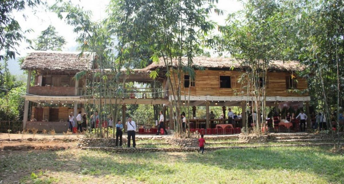 Dinh Van Nhu's homestay inGian Bihamlet, Da Nang city. (Photo: VOV)
