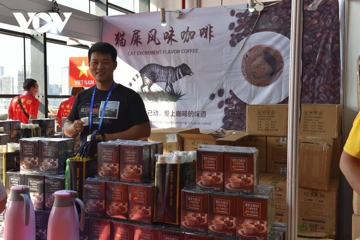 Gian hàng của Việt Nam tại hội chợ