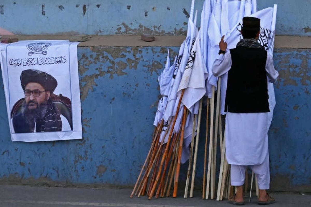 Phó Thủ tướng lâm thời Baradar là người dẫn đầu các cuộc đàm phán giữa Taliban với Mỹ ở Doha. Ảnh: AFP