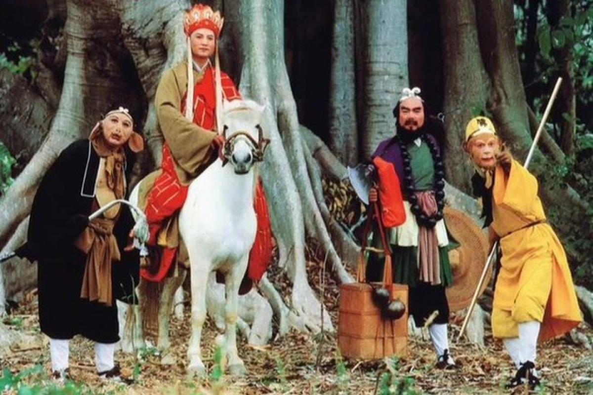 """""""Tây Du Ký"""" (năm 1986) là một tác phẩm truyền hình kinh điển của Trung Quốc và được phát sóng tại Trung Quốc hơn 3.000 lần."""
