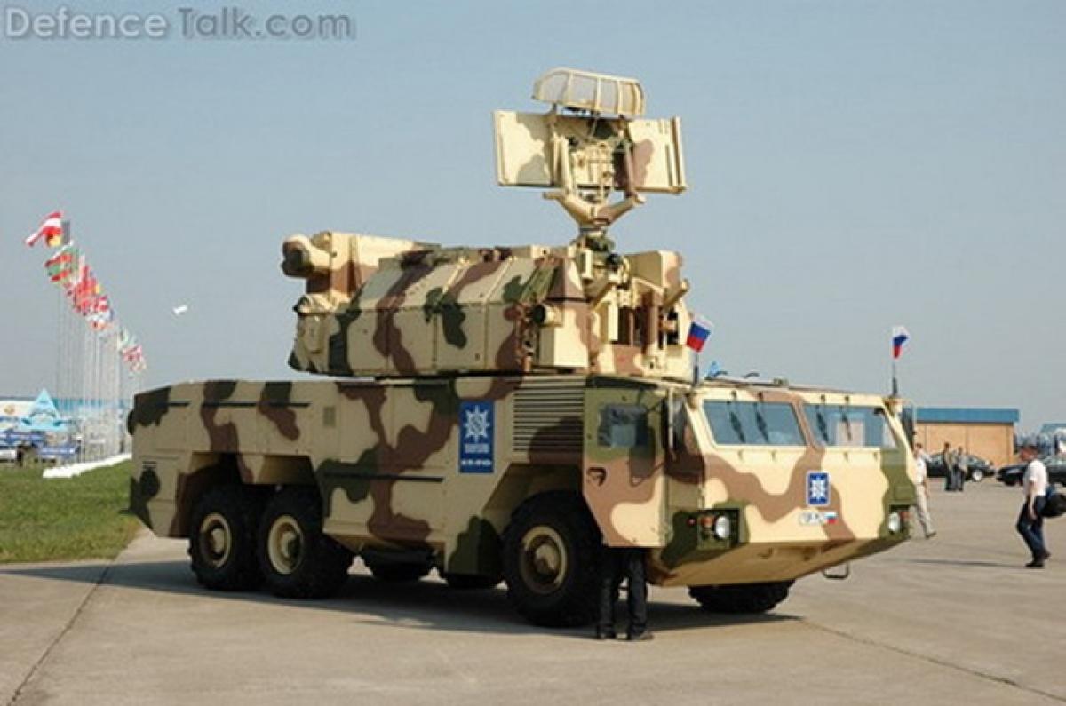 Hệ thống tên lửa phòng không Tor-M2 của Nga. Ảnh: Defence Talk.com
