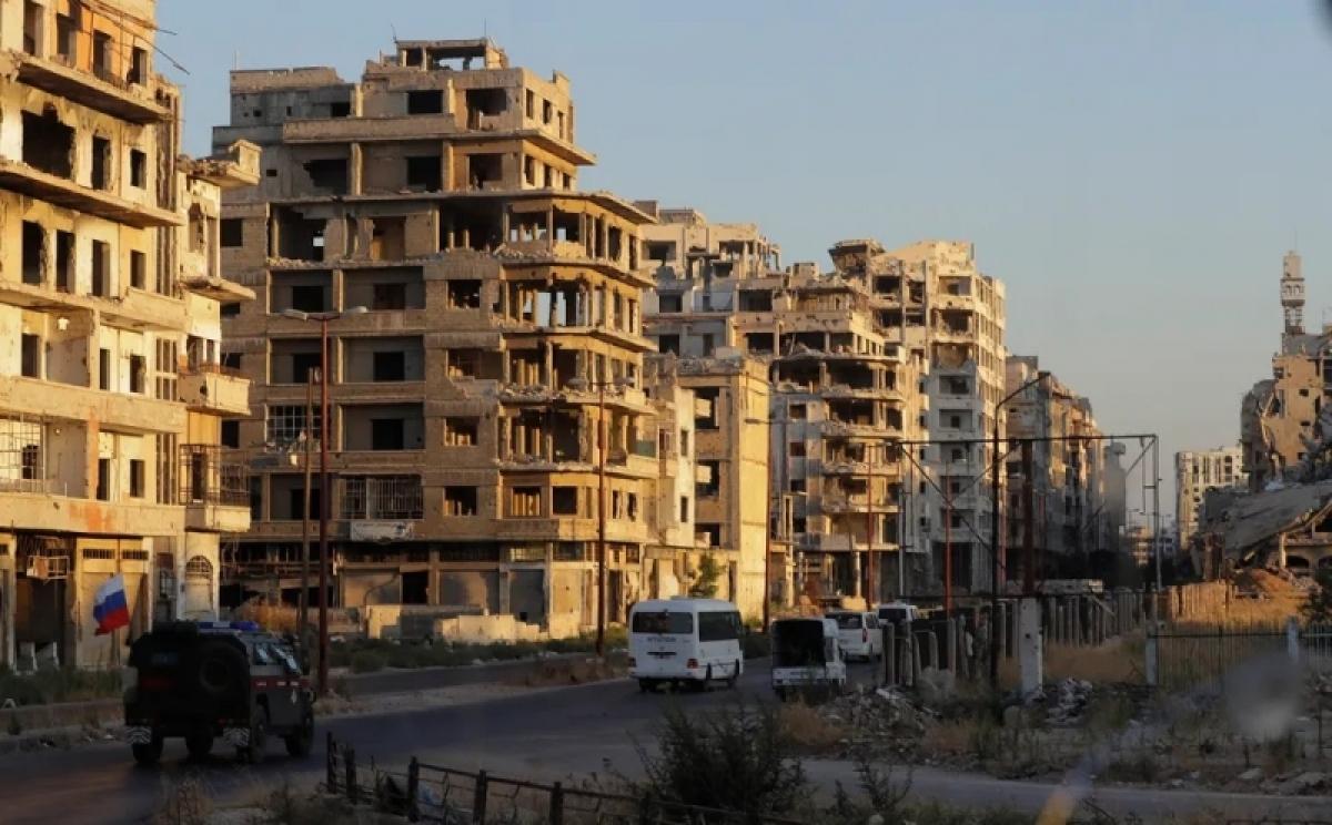 Xung đột Syria khiến hơn 350.000 người chết trong 10 năm qua - Ảnh: AP