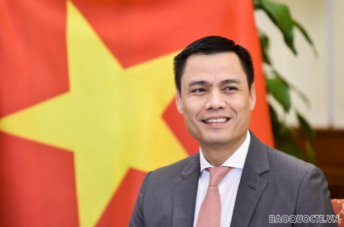 Thứ trưởng Đặng Hoàng Giang (Ảnh: báo quốc tế)