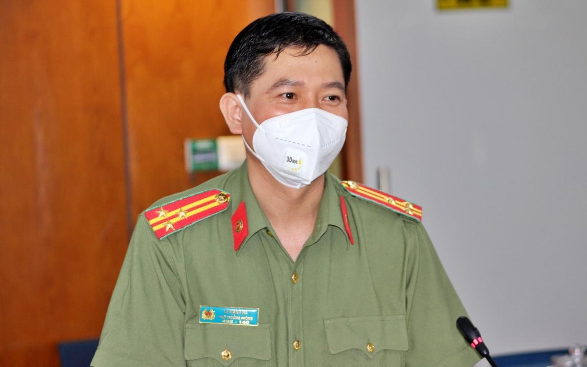 Thượng tá Lê Mạnh Hà, Phó phòng Tham mưu Công an TP.HCM