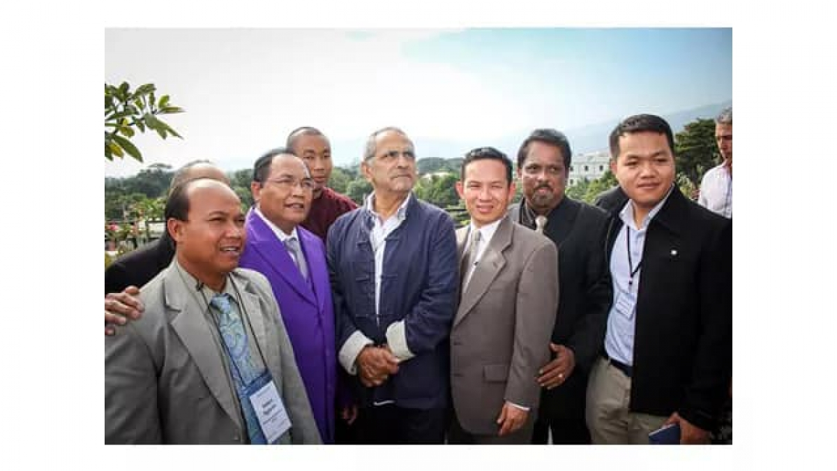 Y Hin Niê (áo tím) tham dự Hội nghị Tự do tôn giáo Đông Nam á tại Đông Timor 2016
