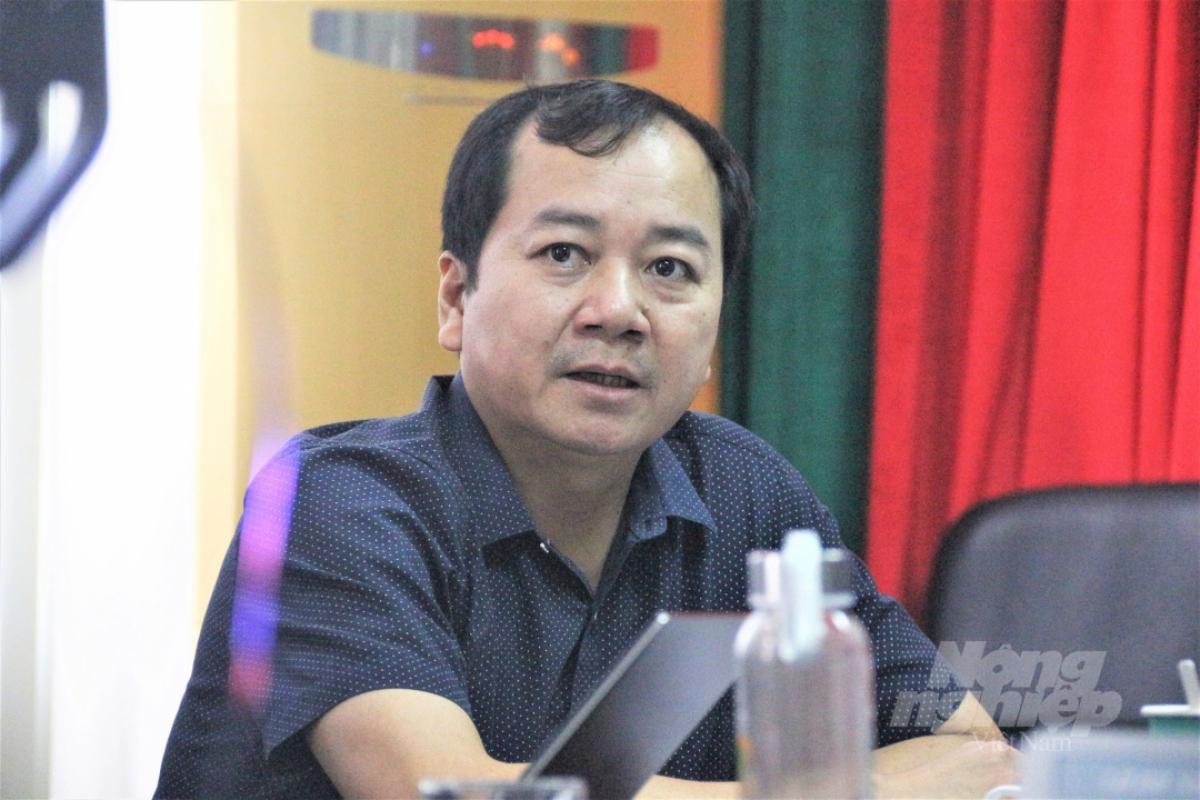 Ông Trần Đình Luân, Tổng cục trưởng Tổng cục Thủy sản.