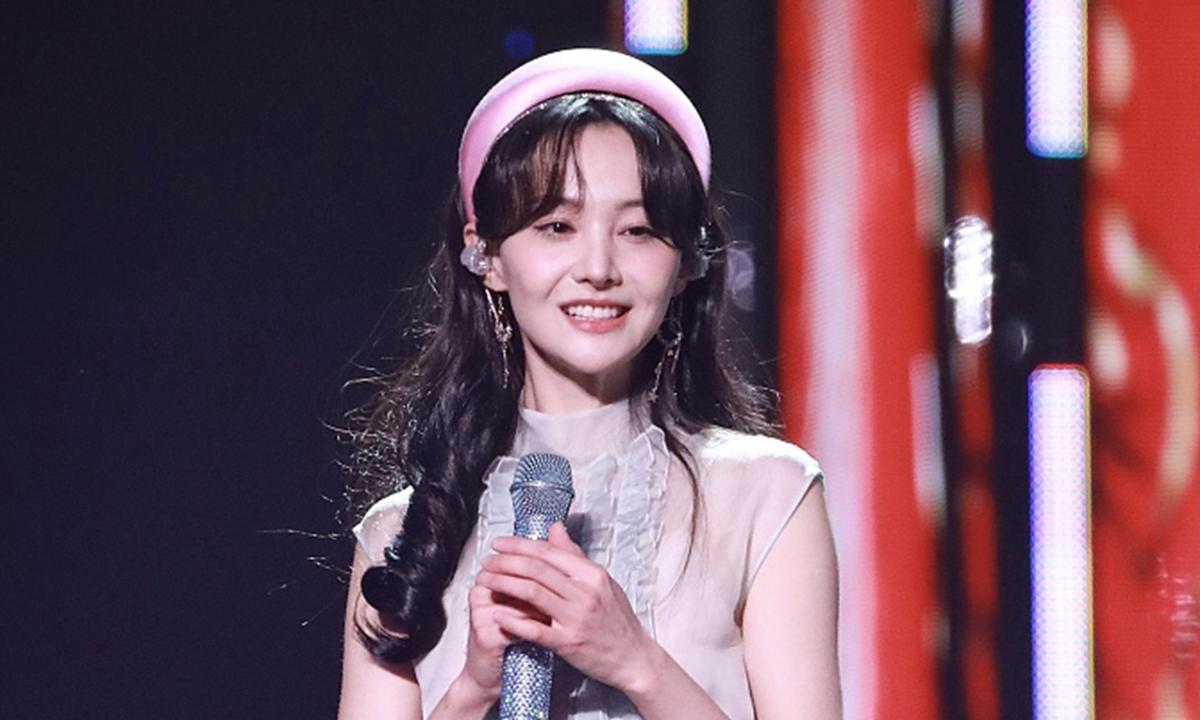 Nữ diễn viên Trịnh Sảng. Ảnh: VCG