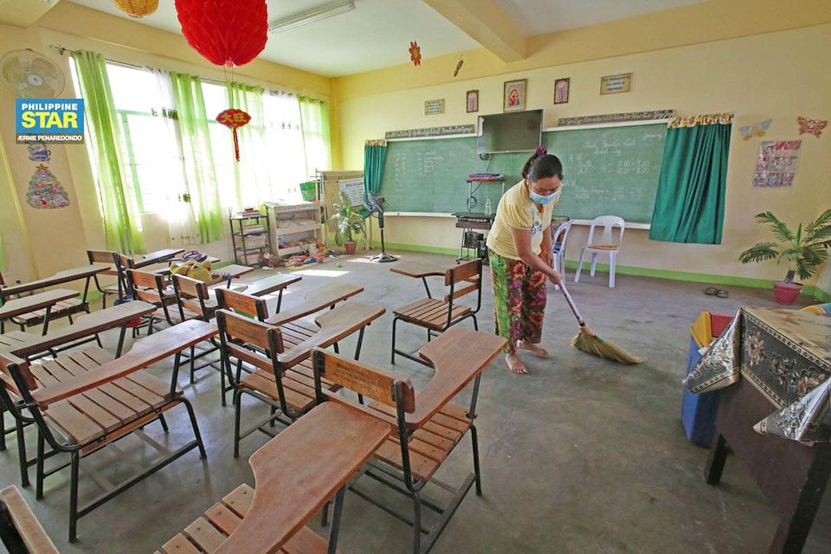 Philippines thí điểm mở cửa lại trường học. Ảnh: Philippine Star