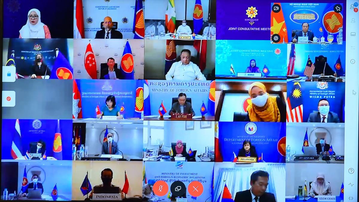 Hội nghị tham vấn chung ASEAN (JCM).