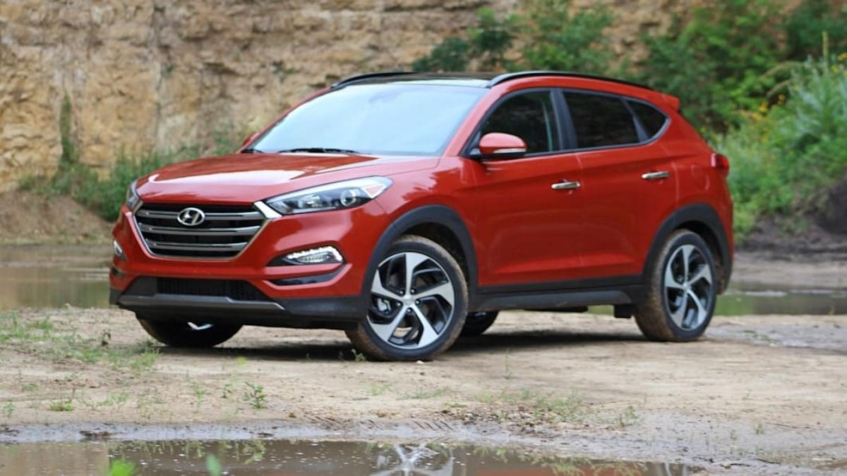 Hyundai Tucson bị triệu hồi tại Mỹ.