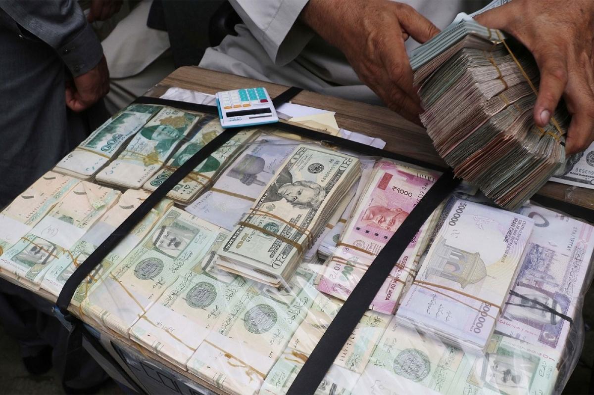 Phần lớn dự trữ USD của Afghanistan được giữ bên ngoài lãnh thổ (Ảnh minh họa: KT)
