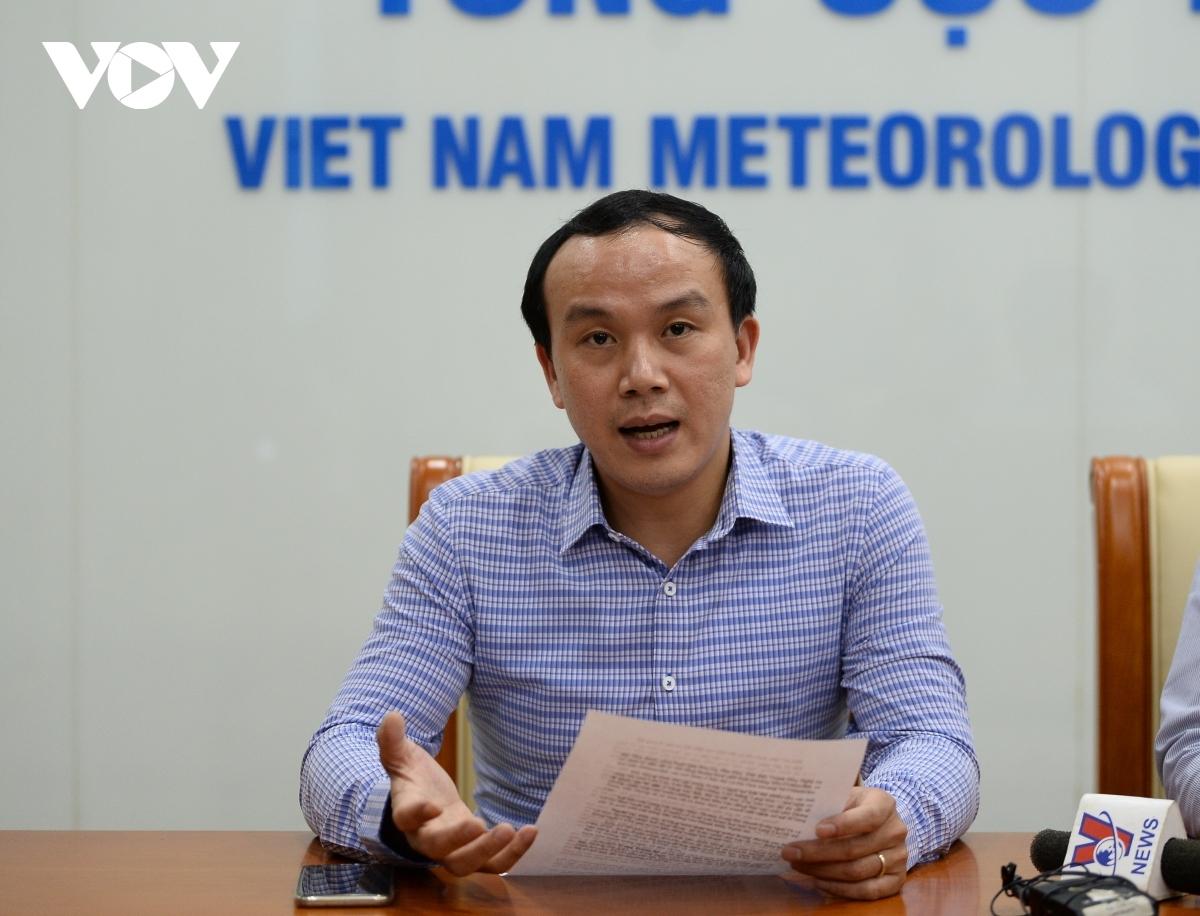 Ông Hoàng Phúc Lâm - Phó Giám đốc Trung tâm Dự báo KTTV Quốc gia.