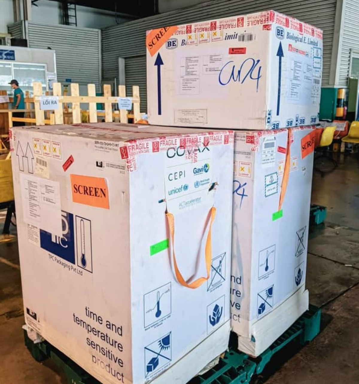 Papua New Guinea has delivered 30,000 doses of the AstraZeneca vaccine to Vietnam through COVAX