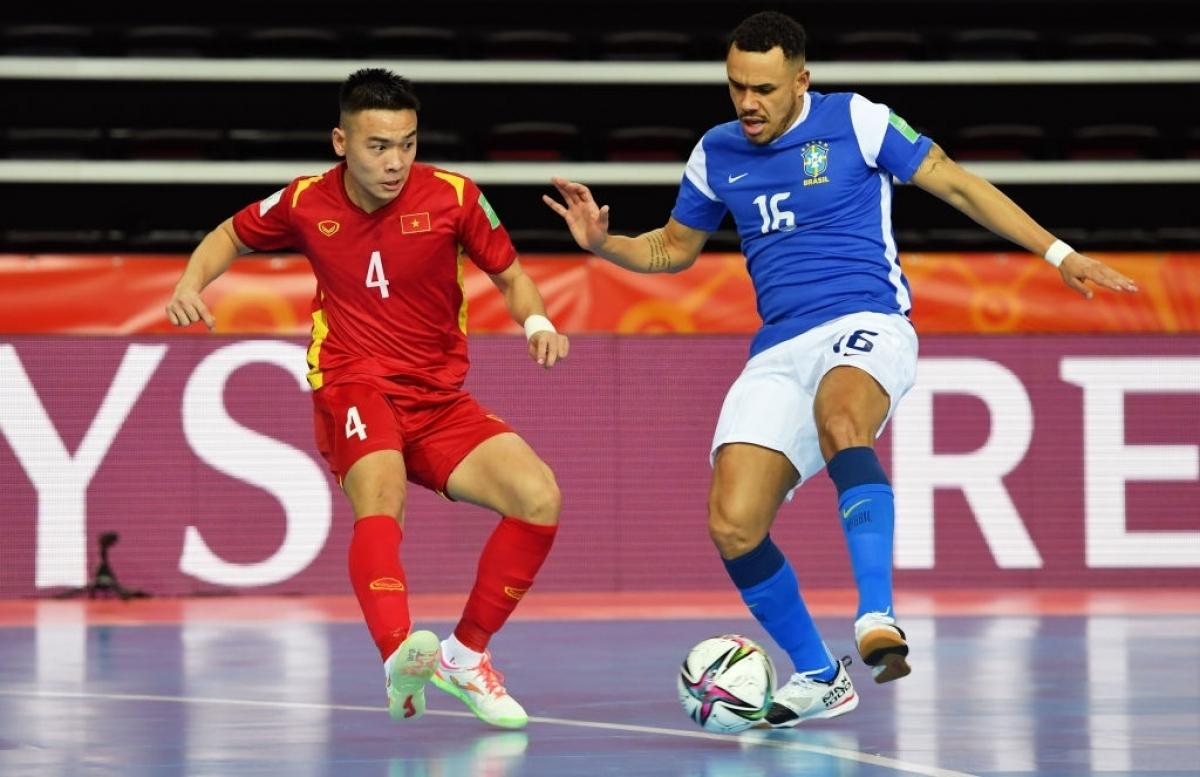 Ở lượt trận thứ 2, ĐT Futsal Việt Nam sẽ gặp Panama trong khi Brazil đối đầu CH Séc./.