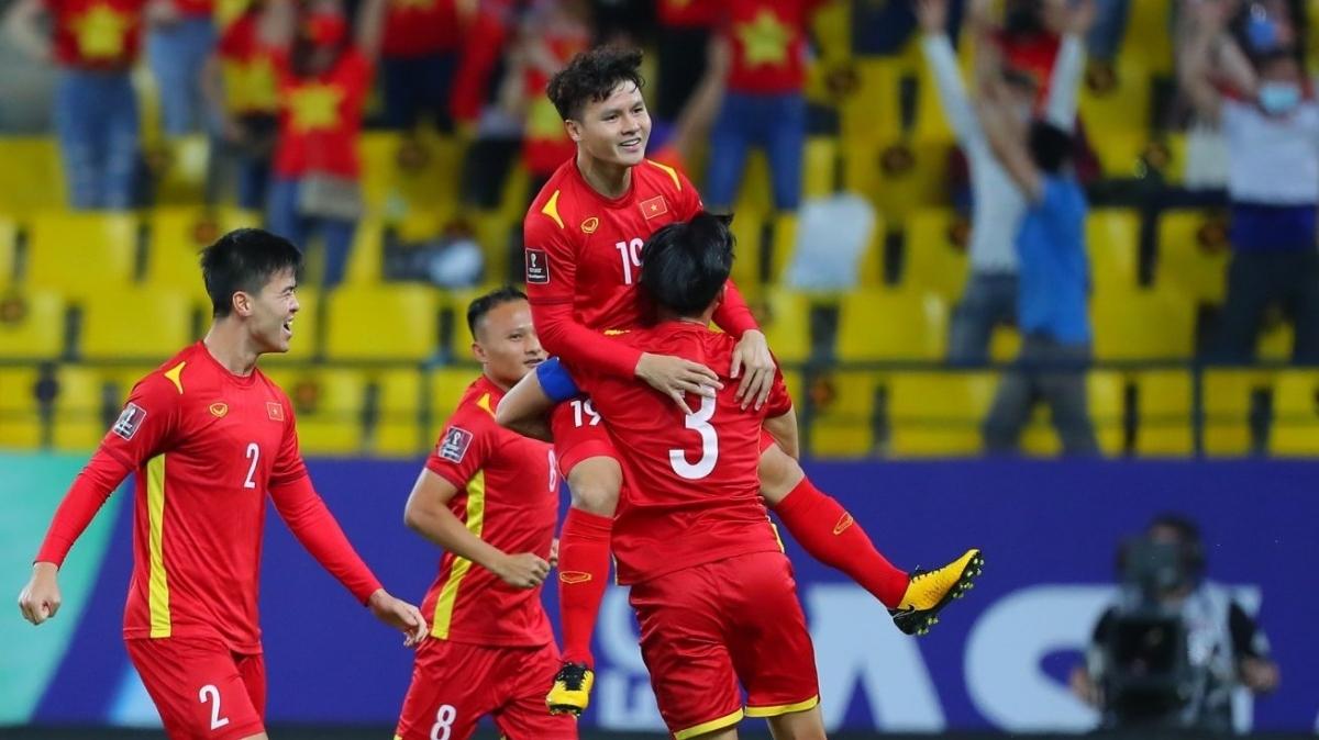 ĐT Việt Nam đối đầu ĐT Australia ở trận đấu thứ haivòng loại thứ ba World Cup 2022 khu vực châu Á. (Ảnh: AFC).