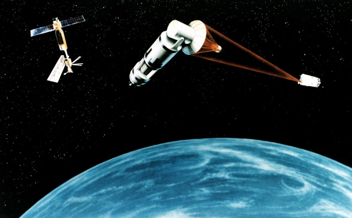 Nga kêu gọi các nước cấm triển khai vũ khí trong không gian vũ trụ. Ảnh minh họa: Breaking Defense