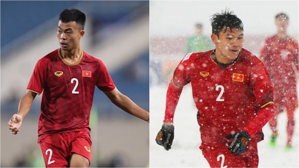 Thanh Thịnh (trái) và Xuân Mạnh (phải) được triệu tập bổ sung lên ĐT Việt Nam.