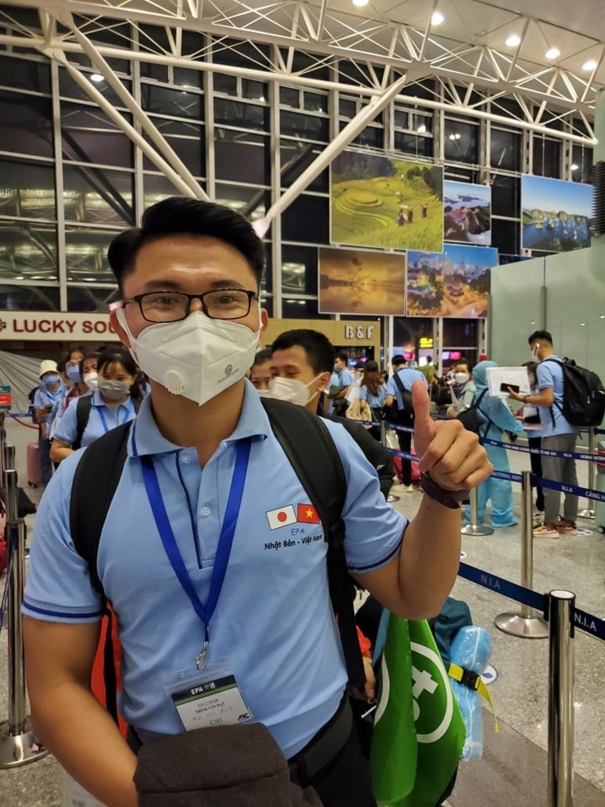 Ứng viên điều dưỡng, hộ lý Việt Nam xuất cảnh sang Nhật Bản làm việc.