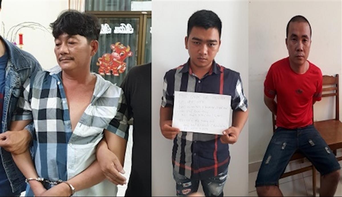 Trần Công Xuân, Nguyễn Quốc Tài Nguyên, Hồ Thanh Hải (từ trái qua)