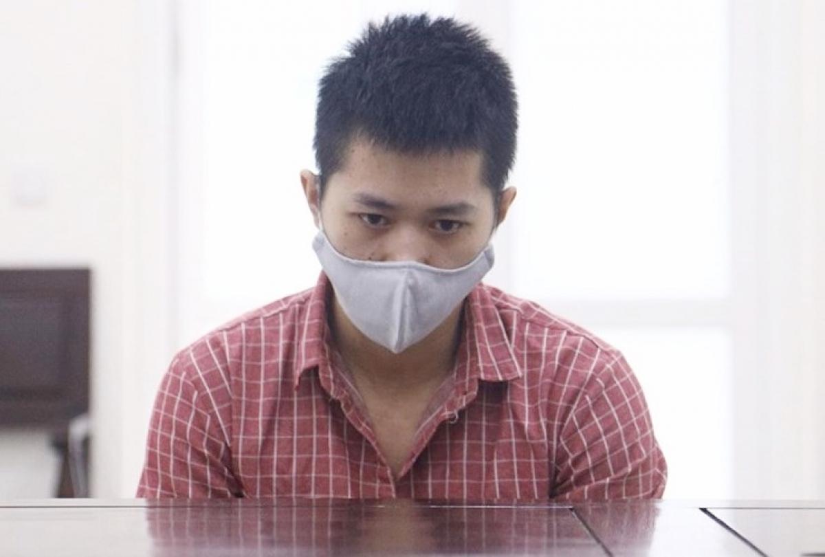 Bị cáo Phạm Thanh Tùng tại phiên xét xử